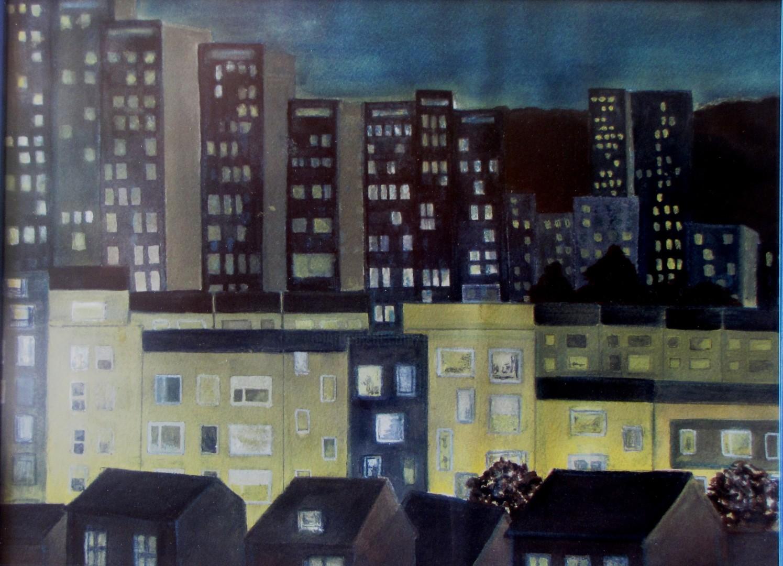 Eliane Robin - Cité de l'Espoir nuit