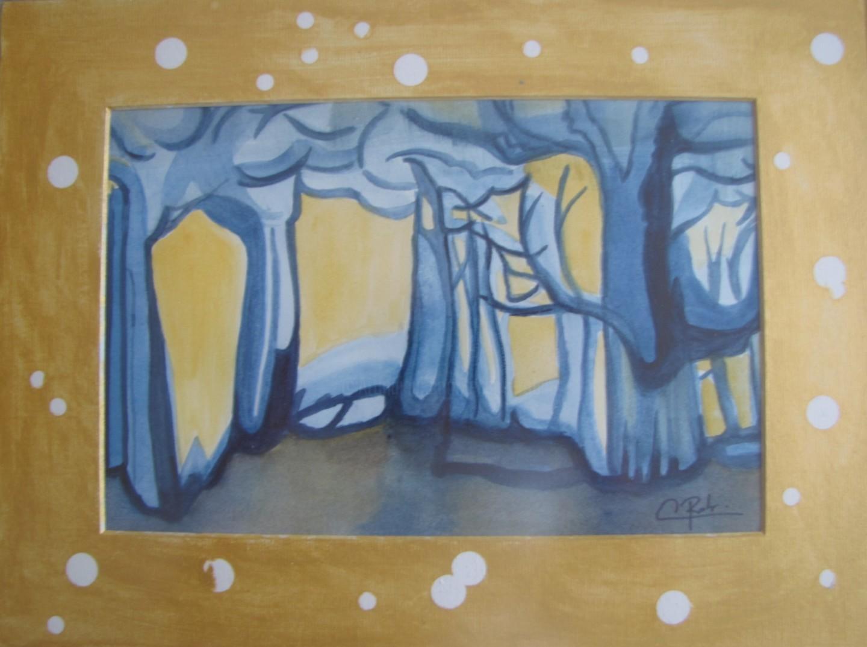 Eliane Robin - Forêt d'été